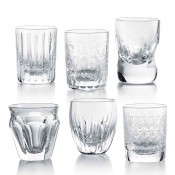 Les Minis Set/6 Assorted Designs Shot Glasses