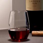 Set/4 Stemless Wine Glasses, 11cm, 475ml