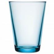 Set/2 Tumblers/Highballs, 11.5cm, 400ml - Light Blue