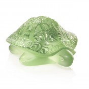 Sidonie Turtle Figurine, Light Green