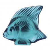 Fish Sculpture, Turquoise Lustre