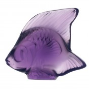 Fish Sculpture, Violet