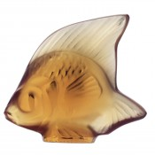 Fish Sculpture, Amber