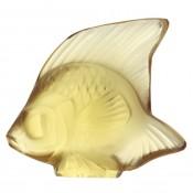 Fish Sculpture, Gold