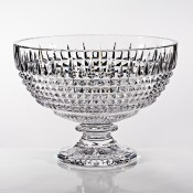 Footed Crystal Centrepiece Bowl, 22cm