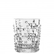 Set/4 Whisky Tumblers/Double Old Fashioned Glasses, 10cm, 350ml