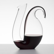 Ayam Wine Decanter, 29cm, 1.7L - Black Stripe