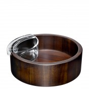 Wood Chip & Dip Bowl Set, 30.5cm