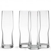 Set/4 India Pale Ale (IPA) Craft Beer Glasses, 20.5cm, 530ml