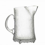 Ice Lip Glass Pitcher, 20cm, 1.5L - Clear