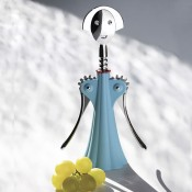 Corkscrew, 24.5cm - Light Blue