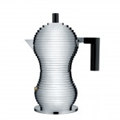 Pulcina Espresso/Coffee Maker, 20.5cm, 155ml - Black