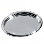 Polished Oval Tray 40 cm