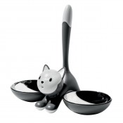 Tigrito Cat Bowl - Grey