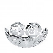 Stainless Steel La Rosa Fruit Bowl, 29 cm