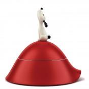 Lula Dog Bowl, 23cm - Red