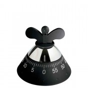 Kitchen Timer, 9cm - Black