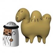 Set/2 Amir & Camelus Figurines