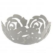 White La Rosa Bowl, 29 cm
