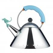 Tea Rex Kettle with Light Blue Handle, 22cm, 2L
