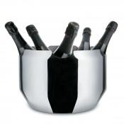 Noe Stainless Steel Wine Cooler, 20.5cm