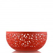 Round Fruit Bowl/Basket, 21cm - Super Red