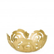 La Rose - Fruit Holder/Bowl, 21cm - Brass