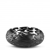 Barknest - Round Fruit/Bread Basket/Bowl, 21cm - Black