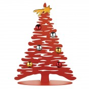 """Bark,Chrstms Tree 11.75""""h Red"""