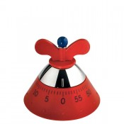 Kitchen Timer, 9cm - Red