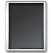 "Plain - Silver Plate Photo/Picture Frame, 20x25cm (8""x10"") - G14"