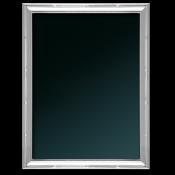 "Ribbon - Silver Plate Photo/Picture Frame, 10x15cm (4""x6"")"