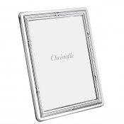 "Rubans- Silver Plate Photo/Picture Frame, 18x24cm (7""x9"")"