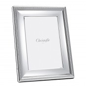 "Perles - Silver Plate Photo/Picture Frame, 13x18cm (5""x7"")"