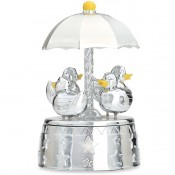 Something Duckie Musical  Carousel, 17cm