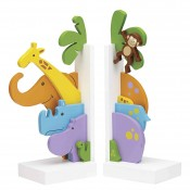 Jungle Parade - Kid's Bookends, 31cm