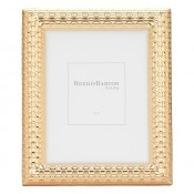 "Watchband Satin Gold Photo/Picture Frame, 13x18cm (5""x7"")"