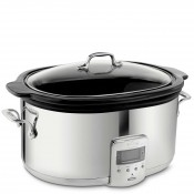 Slow Cooker with Black Ceramic Insert, 50.5x36cm, - 6.2L (6.5Qt)