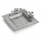 Glass Snack Dish, 18.5cm