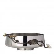 Round High Pedestal Bowl/Centrepiece, 28cm - Large