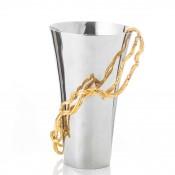 Stainless Steel Flower Vase, 25cm - Medium