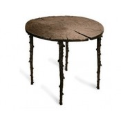 Cafe Table, 80cm - Bronze Finish