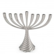 Menorah, 26.5cm - Nickel Plate
