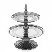 2-Tier Cake Stand/Etagere, 28cm - Small