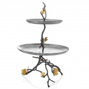 2-Tier Cake Stand/Etagere, 48.5cm