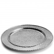 Charger/Service Plate/Round Platter, 32.5cm - Silver