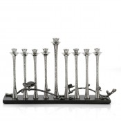 Menorah, 23.5cm  - Granite Base