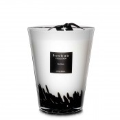 Feathers - Max 24 Scented Candle, 24cm - Black Feathers - Limited Edition
