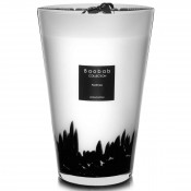 Feathers - Maxi Max Scented Candle, 40cm - Black Feathers - Limited Edition