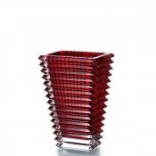 Small Rectangular Vase, 20cm - Red